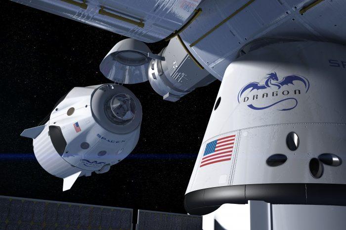 Space X raķete
