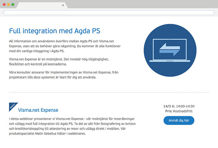 Visma.net Expense screenshot 4